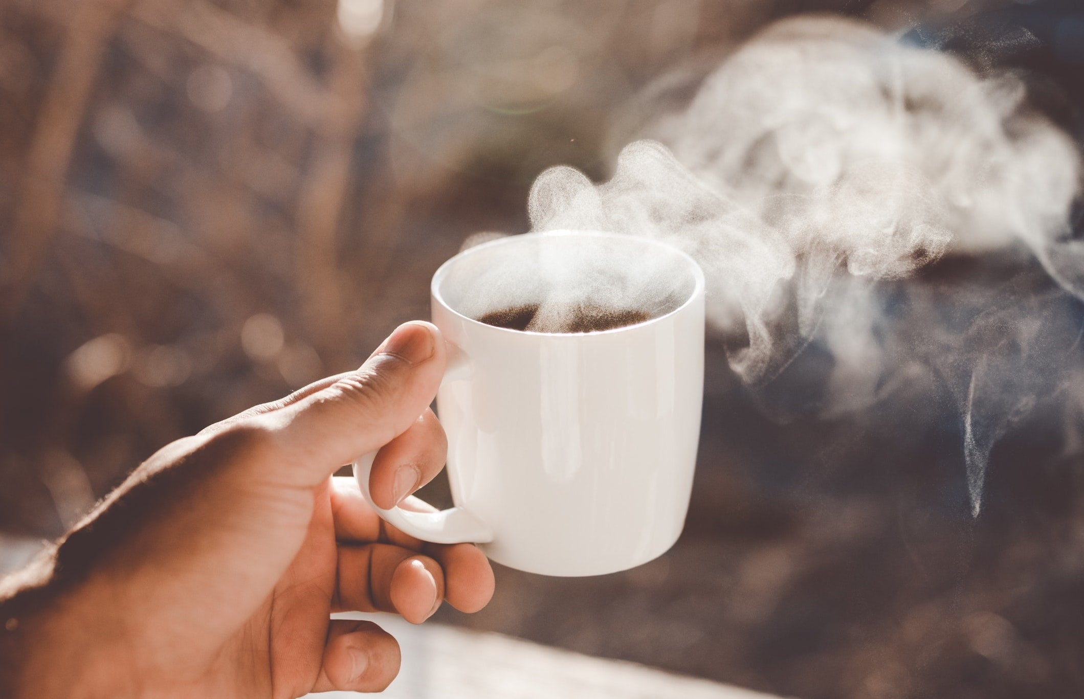 Drinking coffee in the morning is a habit. Build good habits