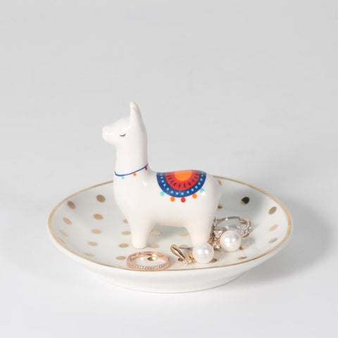 Llama Ring Holder