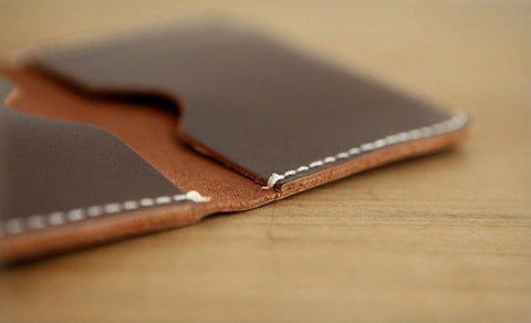 Customisable Leather Card Holders