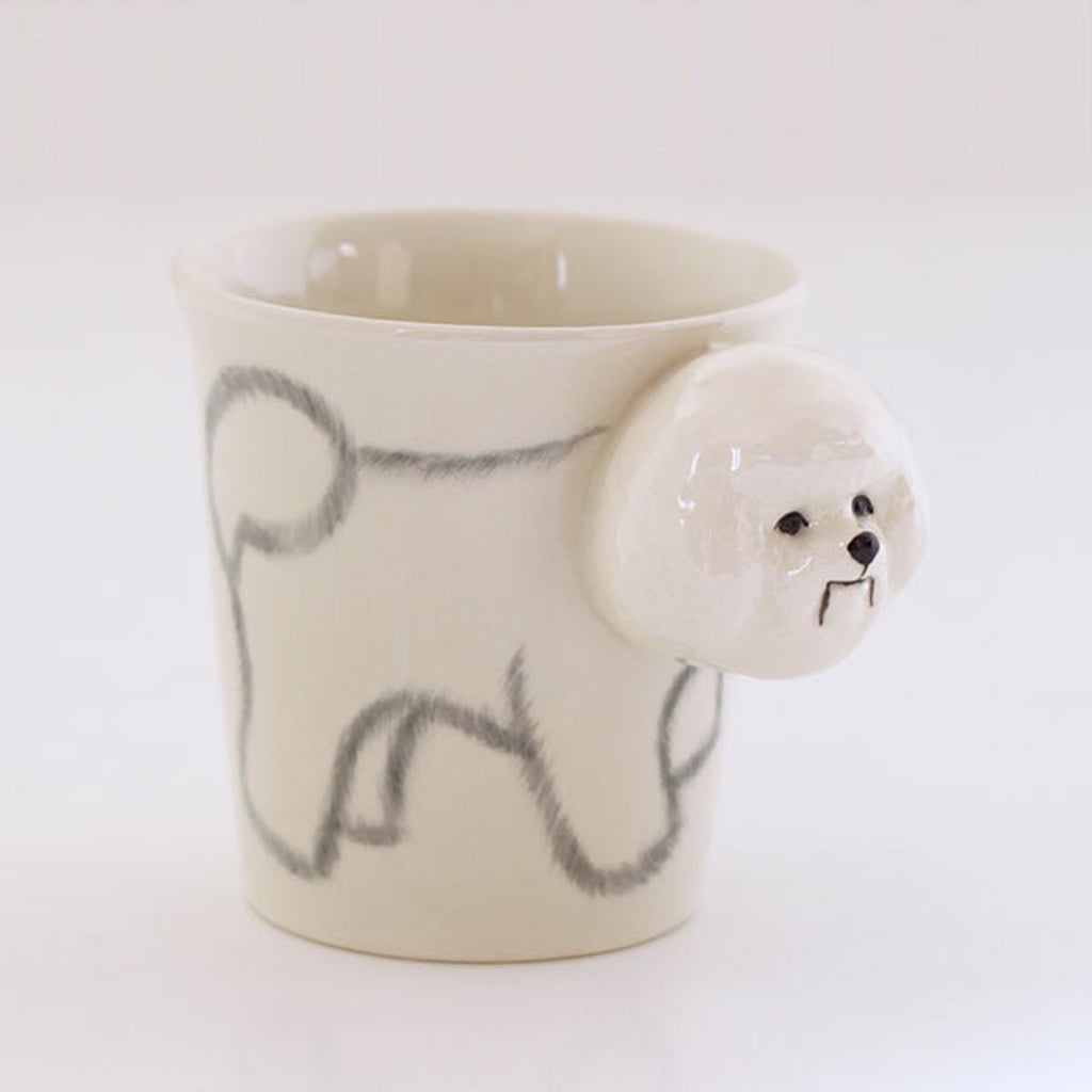 3D Animal Mug - Bichon Frize