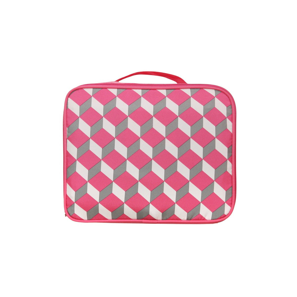 Air Cube Bag (S) Square Pink