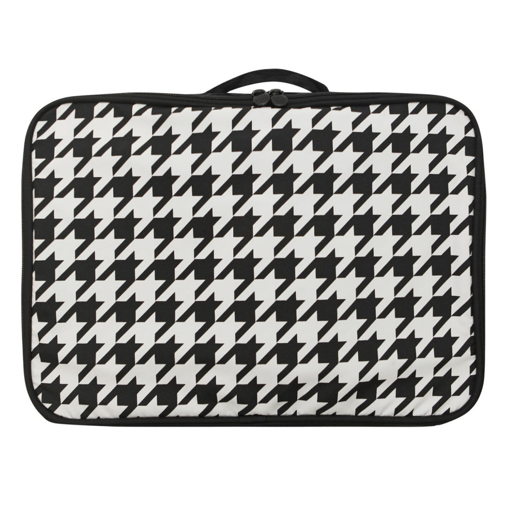 Air cube Bag (L) Houndstooth Black