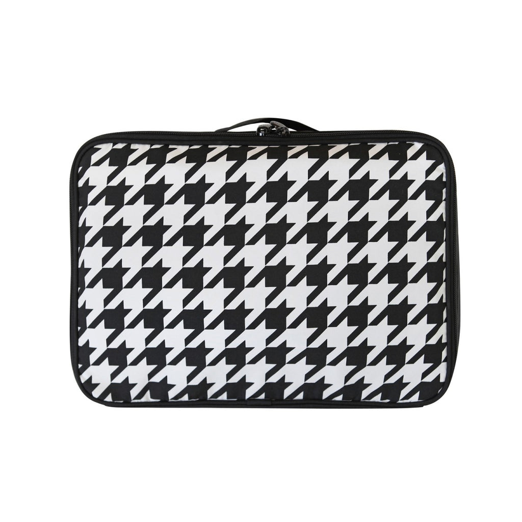 Air cube Bag (M) Houndstooth Black