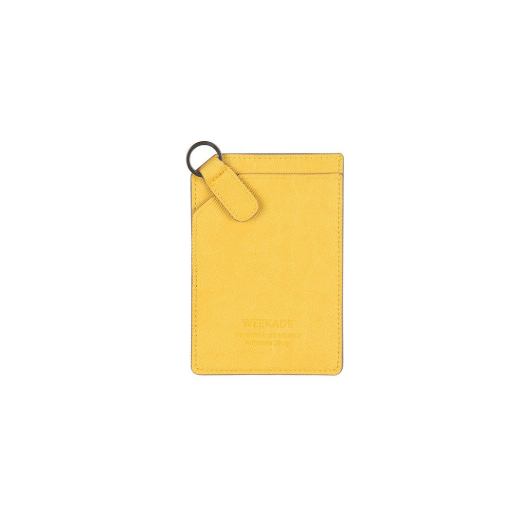 Card slit organizer (Honey Yellow)