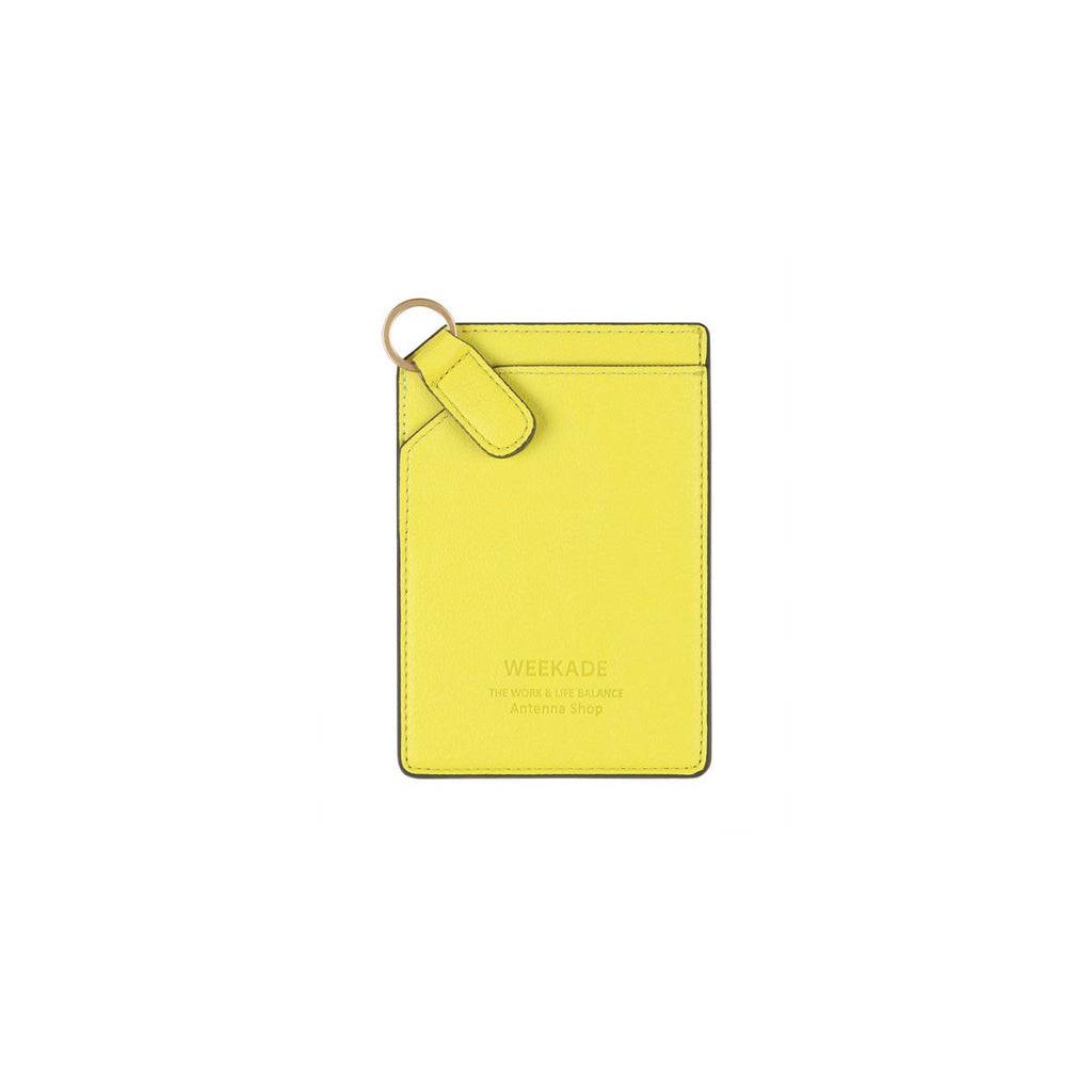 Card slit organizer (Fresh Yellow)