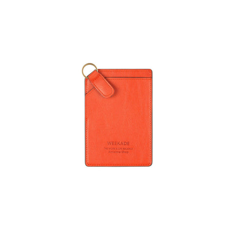 Card slit organizer (Orange)
