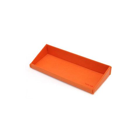Desk Tray Rust Orange