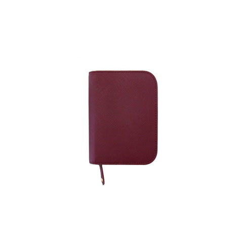 Inzipper Wallet (Half) Burgundy