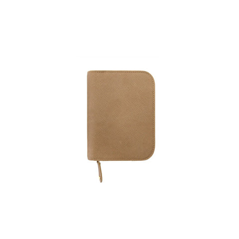 Inzipper Wallet (Half) Neutral Beige