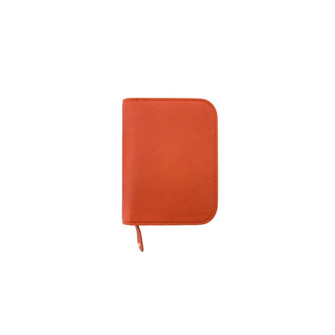 Inzipper Wallet (Half) Rust Orange