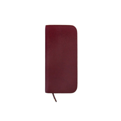 Inzipper Wallet (Tall) Burgundy