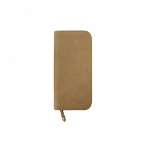 Inzipper Wallet (Tall) Neutral Beige