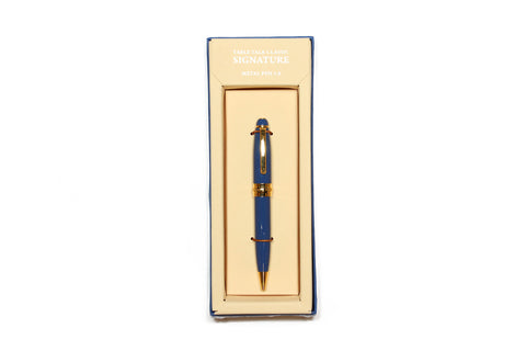 Table Talk Signature Pen (Retro Blue)