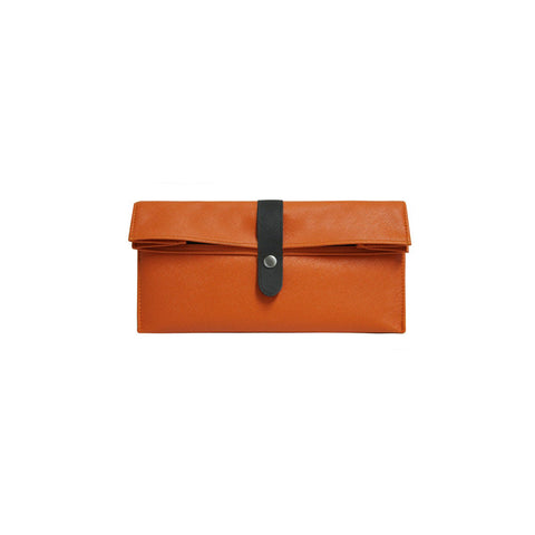 Tray Pouch Rust Orange