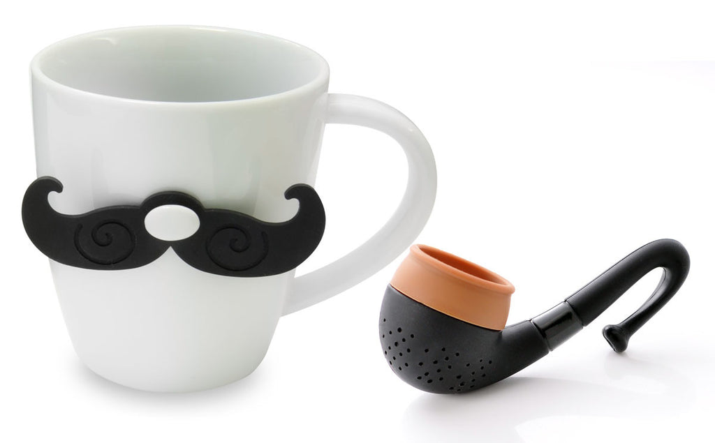 Gentleman Mug & Tea Set