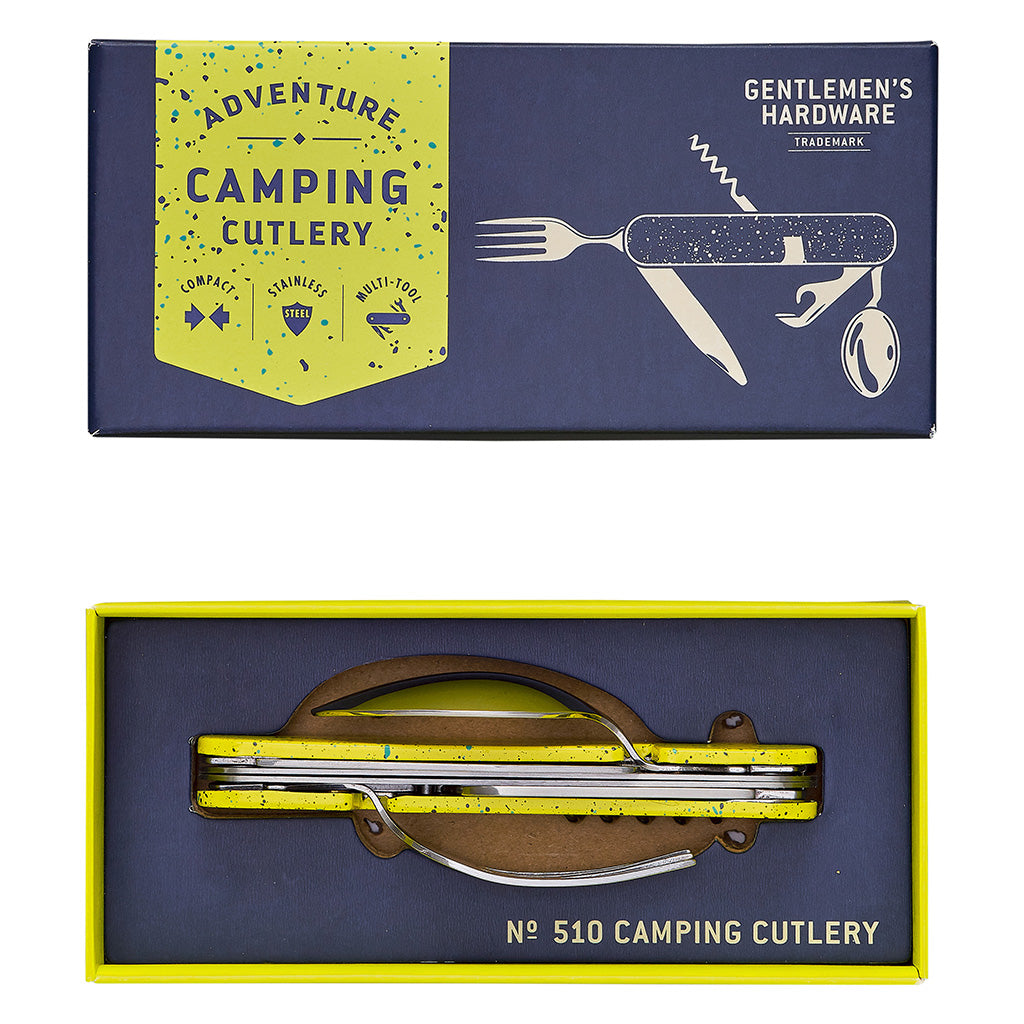 Camping Cutlery Tool ( No sharp knife)