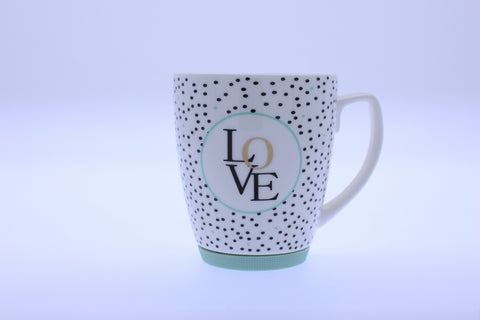 Gold Decal With Love Mug