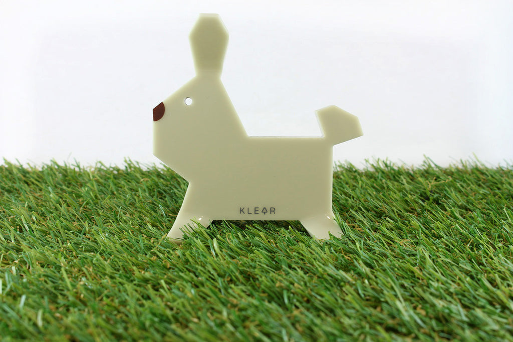 Bunny-Gami Clip Holder (Almond)