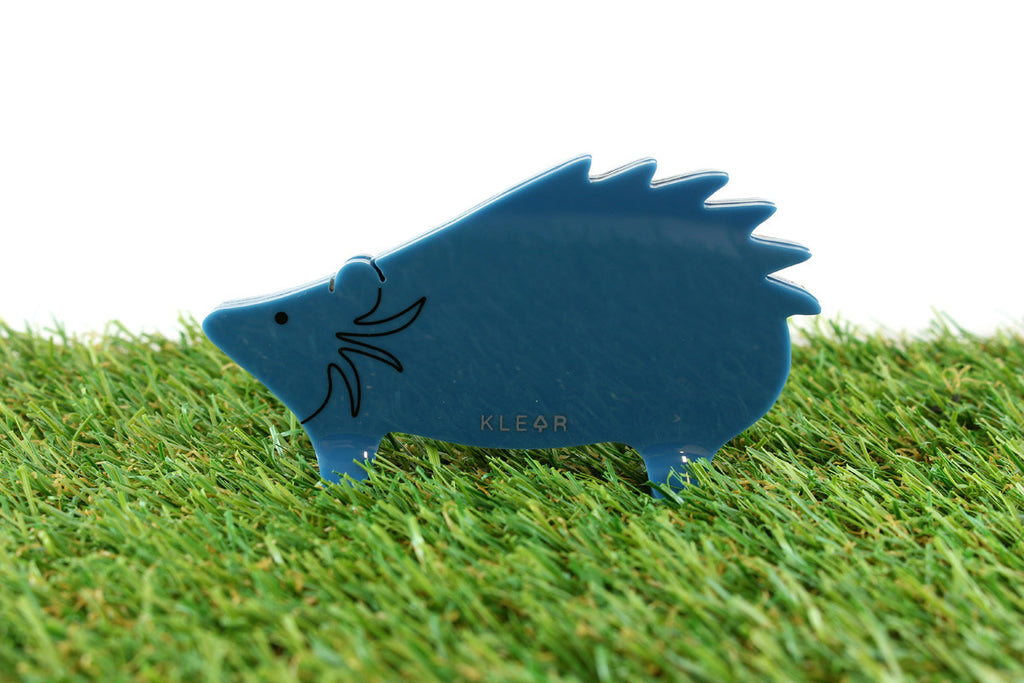 Hedgehog Clip Holder (Blue)