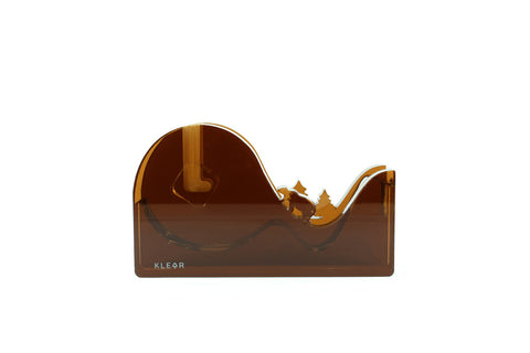 Melting earth Tape Dispenser (Brown)