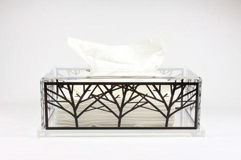 Tissue Box (Clear Base)