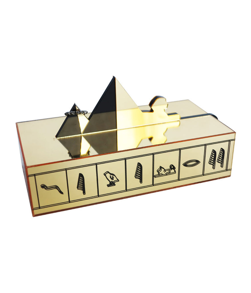 Pyramid Jewelry Box