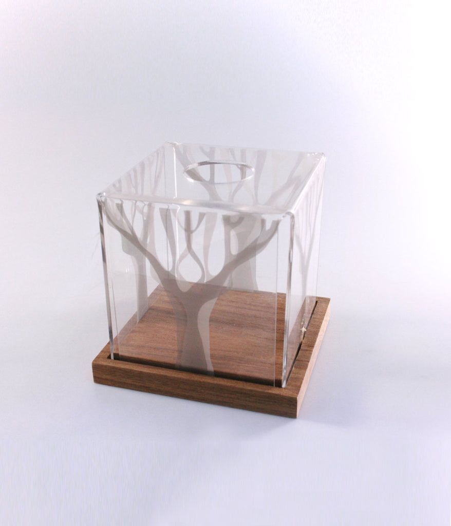 Tissue Box Small (Wood Base)