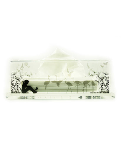 Tissue Box Girl (Clear Base)