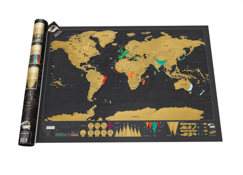 Deluxe Edition Scratch Map