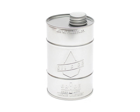 Oil Container (Silver)