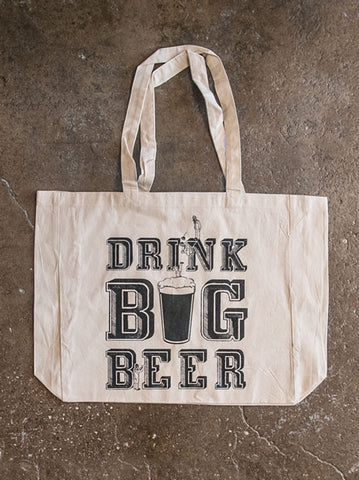 Big Beer Tote Bag