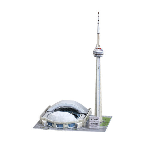3D Puzzle - CN Tower & Sky Dome