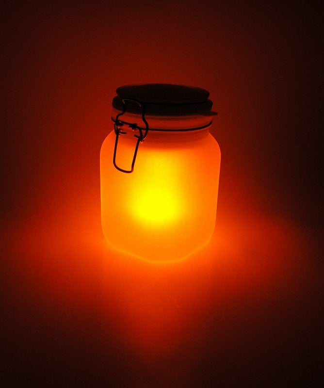 Yellow Sun Jar