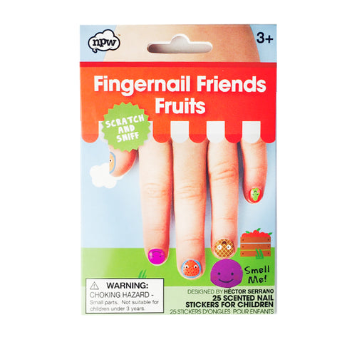 Fingernail friends fruits