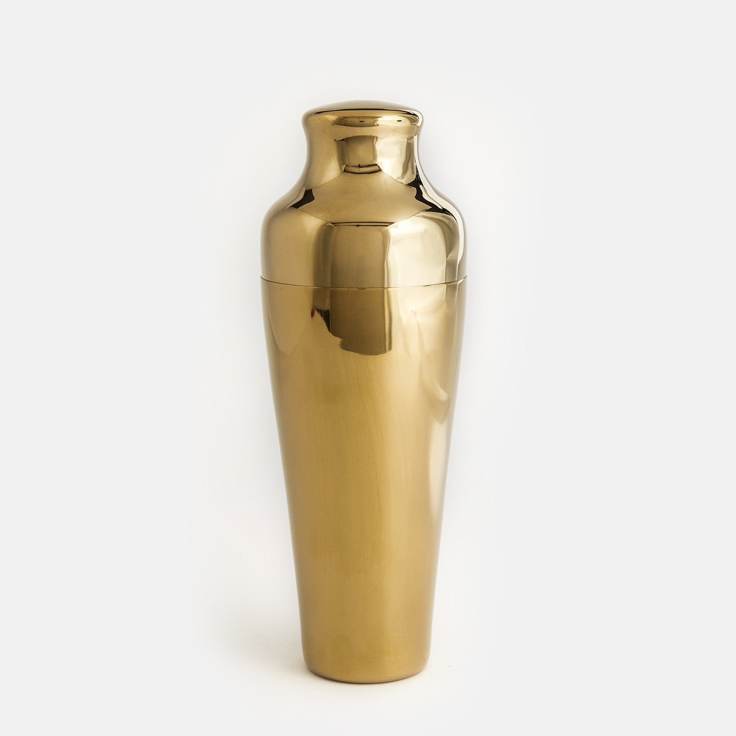 Gold Plated Tin Shaker Set