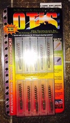 OTIS TECHNOLOGY PREMIUM BORE BRUSH SNAP PACKS, STANDARD 5.6MM, 10PACK, PK-480-1