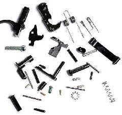 AR-10 LOWER PARTS KIT, MIL-SPEC