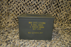 FAT 50 CAL PA108 SAW BOX AMMO CAN VERY GOOD CONDITION * FREE SHIPPING *