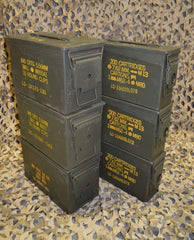 (6 Pack) COMBO 50 Cal / 308 Cal AMMO CAN - VERY GOOD CONDITION * FREE SHIPPING *