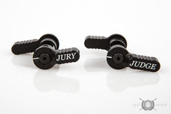 Judge and Jury Ambidextrous Safety - Black