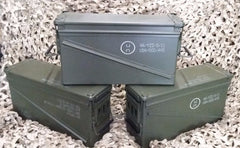 (3 Pack) MILITARY 40MM, BA30, PA120 AMMO CAN - VERY GOOD CONDITION * FREE SHIPPING *