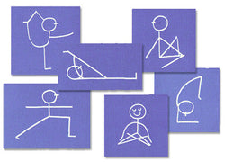 STICK FIGURE NOTE CARDS