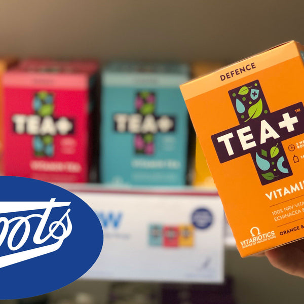 TEA+ Arrives In 500 Boots Stores
