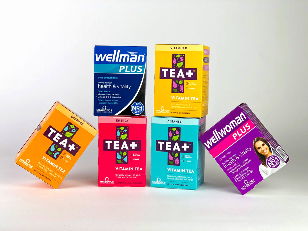 Vitabiotics and TEA+ giveaway