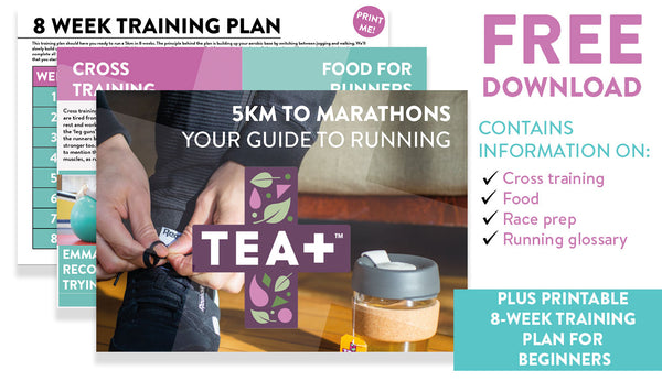 TEA+ 5km to Marathon Running Guide and Training Plan