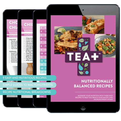 Easy Nutritionally Balanced Recipes eBook - TEA+