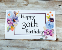 30th birthday card for her