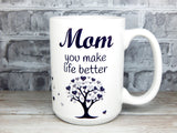 inspirational gift for mom coffee cup for mothers day