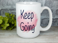 breast cancer coffee mug survivor gifts