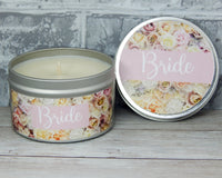 bride candle sparkling sangria scented candle